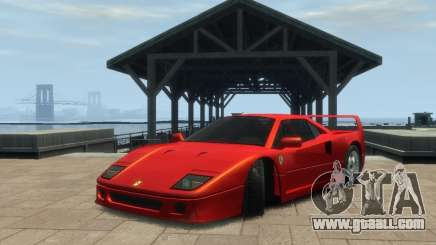 Ferrari F40 for GTA 4