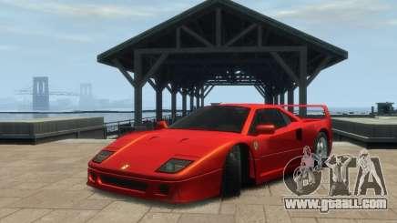 Ferrari F40 for GTA 4