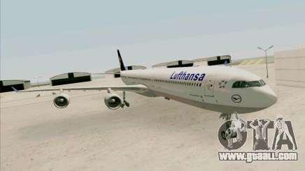 Airbus A-340-600 Lufthansa for GTA San Andreas