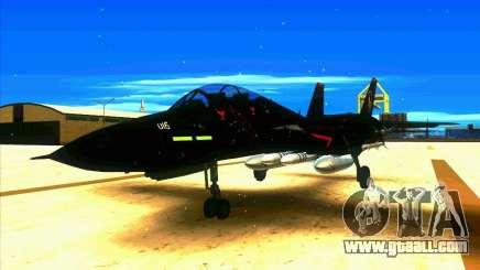 F-14 Tomcat Razgriz for GTA San Andreas