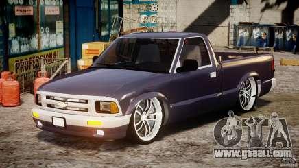 Chevrolet S10 1996 Draggin [Beta] for GTA 4