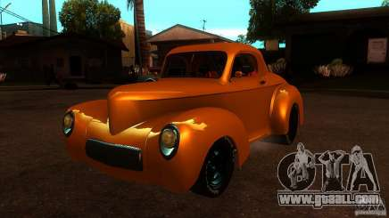 Americar Willys 1941 for GTA San Andreas