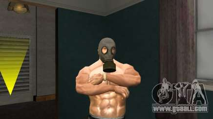 Gas Mask for GTA San Andreas