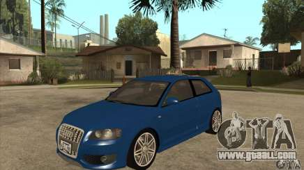 Audi S3 2007 - Stock for GTA San Andreas