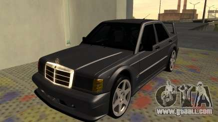 Mercedes-Benz 190E Evolution II 2.5 1990 for GTA San Andreas