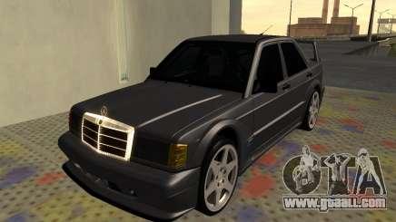 Mercedes-Benz 190E Evolution II 2.5 1990 for GTA San Andreas