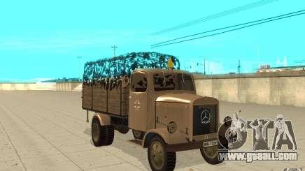 MERCEDES-BENZ L3000 v2.0 for GTA San Andreas