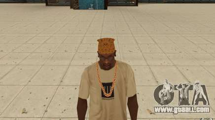 Bandana maryshuana for GTA San Andreas