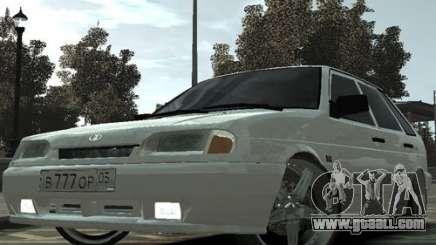 Ваз 2114 Tuning of Dagestan for GTA 4