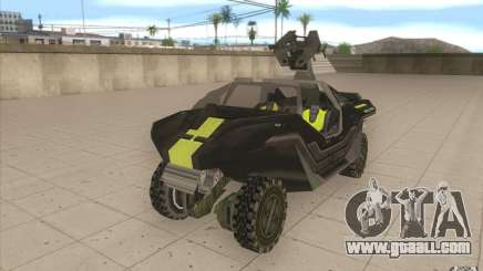 Halo Warthog for GTA San Andreas