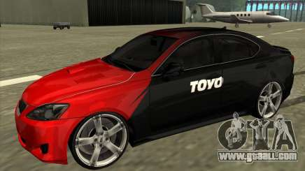Lexus IS350 from NFS Pro street for GTA San Andreas