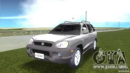 Hyundai Sante Fe for GTA Vice City