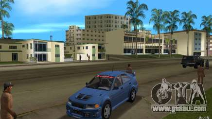 Mitsubishi Lancer Evo VI for GTA Vice City