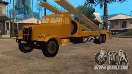 KrAZ 255 auto transporter for GTA San Andreas