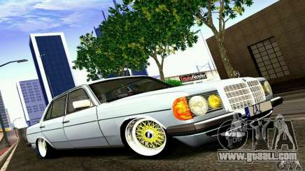 Mercedes Benz W123 for GTA San Andreas