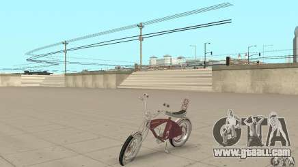 Lowrider Bicycle Custom Version for GTA San Andreas