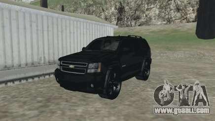 Chevrolet Tahoe BLACK EDITION for GTA San Andreas