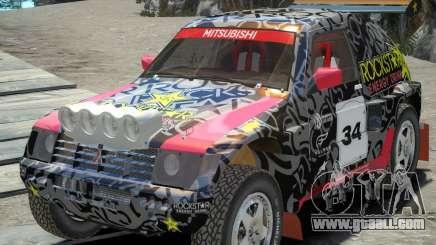 Mitsubishi Pajero Proto Dakar EK86 vinyl 1 for GTA 4