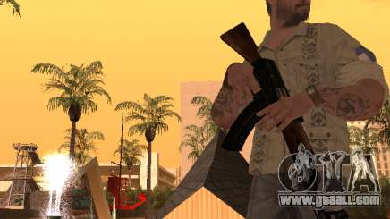 Frank Woods from Call of Duty Black Ops for GTA San Andreas