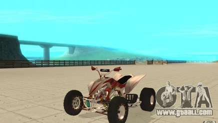 Yamaha YFZ 450 SuperCross Skin 2 for GTA San Andreas