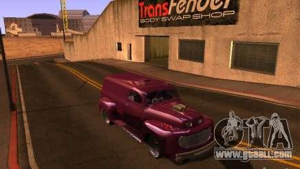 49 Ford HR Van for GTA San Andreas