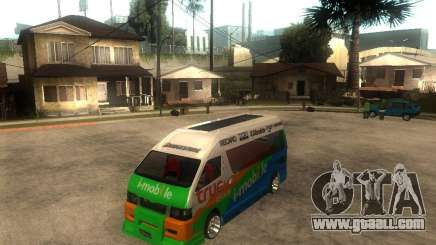 Toyota Commuter VIP Van for GTA San Andreas