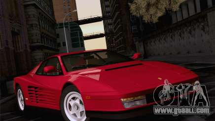 Ferrari Testarossa 1986 for GTA San Andreas