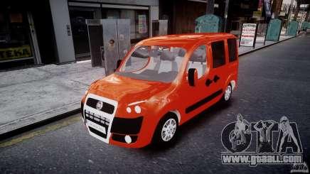 Fiat Doblo 1.9 2009 for GTA 4