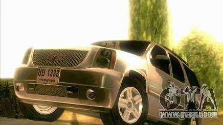 GMC Yukon Denali 2007 for GTA San Andreas