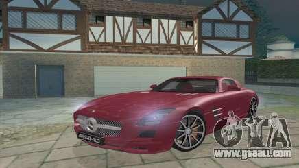 Mercedes-Benz SLS AMG 2011 V3.0 for GTA San Andreas