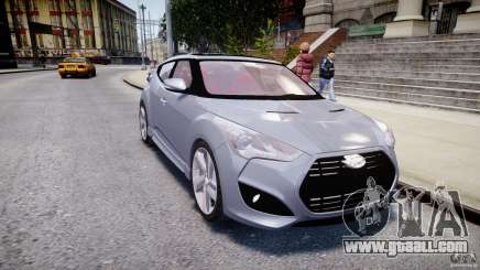 Hyundai Veloster Turbo 2012 for GTA 4