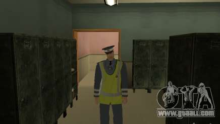 Inspector DPS for GTA San Andreas