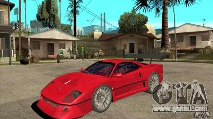 Ferrari F40 2000 Extreme for GTA San Andreas