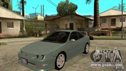 Acura Integra Type-R - Stock for GTA San Andreas