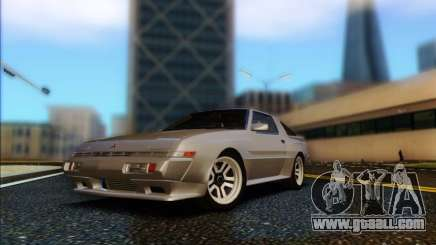 Mitsubishi Starion ESI-R 1986 for GTA San Andreas