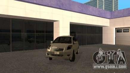 Toyota Yaris Sport 2008 for GTA San Andreas