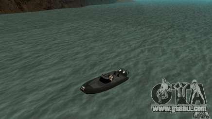 GTAIV Dinghy for GTA San Andreas