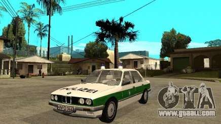BMW E30 323i Polizei for GTA San Andreas
