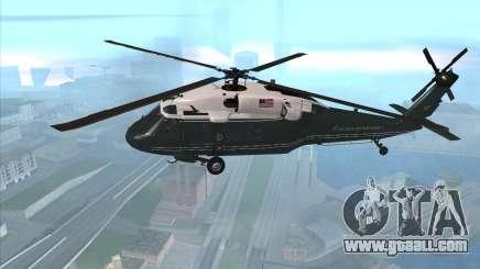 Sikorsky VH-60N Whitehawk for GTA San Andreas