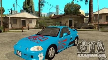 Honda CRX - DelSol for GTA San Andreas