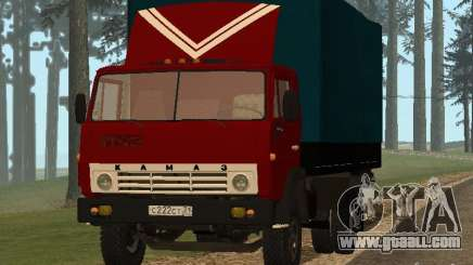 KAMAZ 5325 for GTA San Andreas