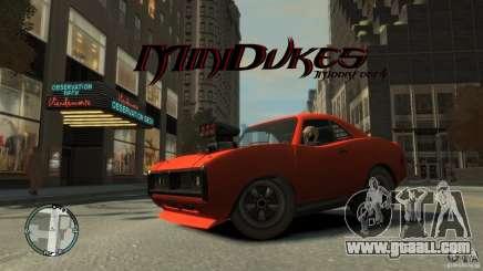 Mini Dukes for GTA 4