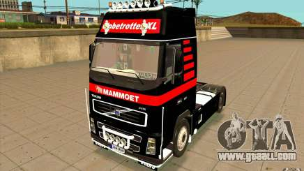 Volvo FH16 Globetrotter MAMMOET for GTA San Andreas