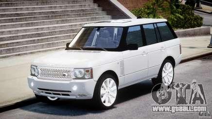 Range Rover Supercharged 2009 v2.0 for GTA 4