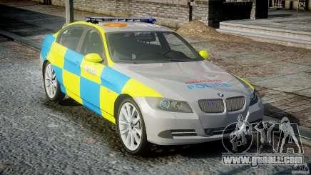 BMW 350i Indonesian Police Car [ELS] for GTA 4
