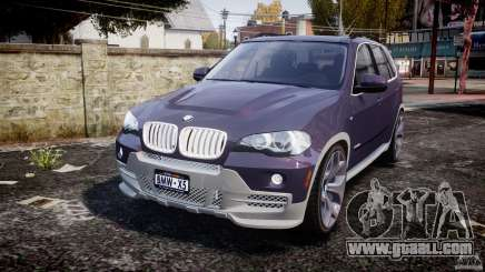 BMW X5 xDrive 4.8i 2009 v1.1 for GTA 4