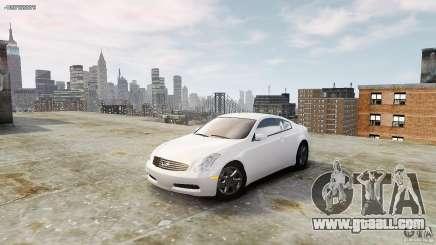 Infiniti G35 for GTA 4