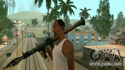 RPG of BF2 for GTA San Andreas