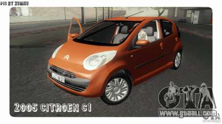 Citroen C1 2005 for GTA San Andreas