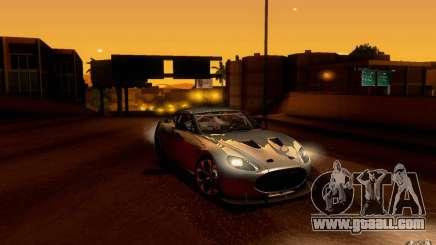 Aston Martin Zagato V12 V1.0 for GTA San Andreas
